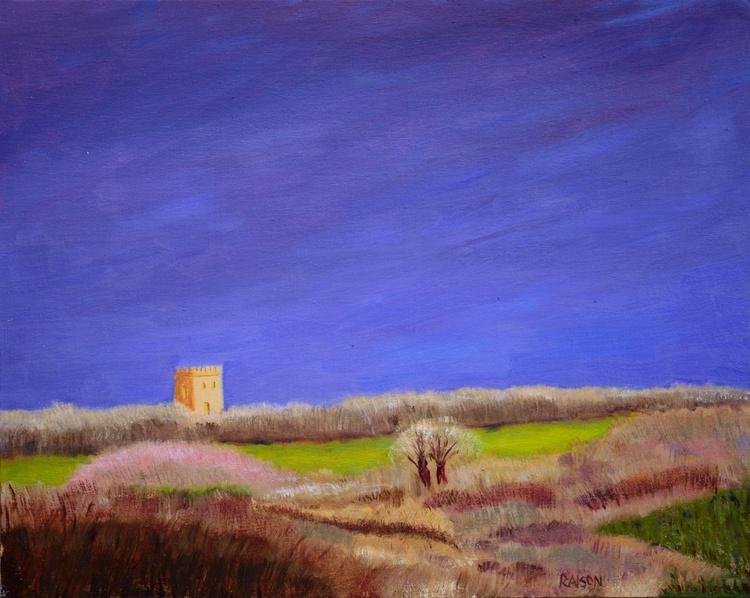 Sussex Weald, stormy sky - Image 0