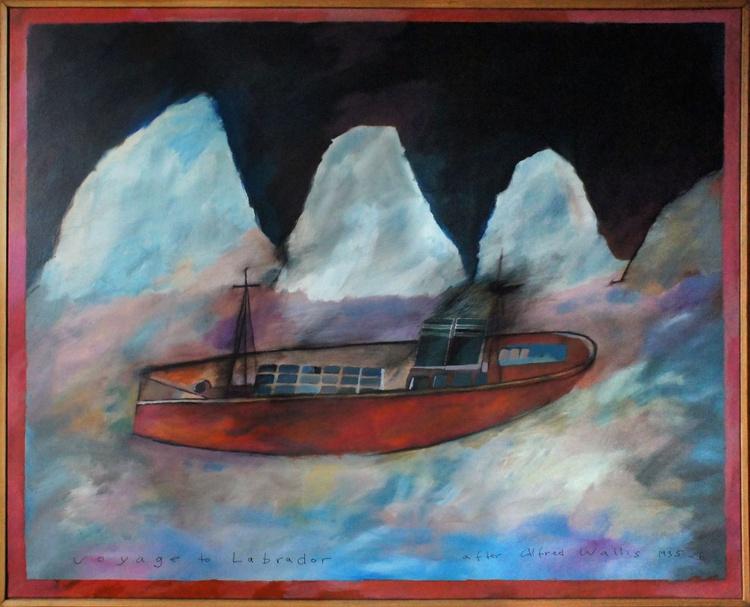 Voyage to Labrador (after Alfred Wallis) - Image 0
