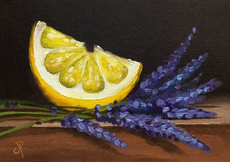 lemon slice with lavender 2 - Image 0