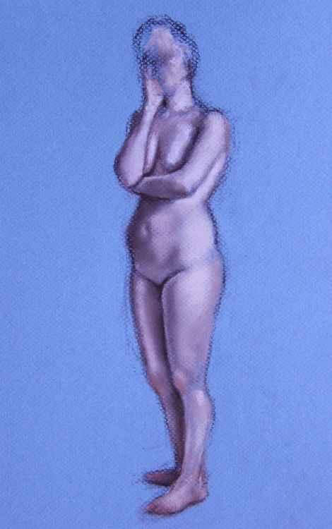 Nude Standing #2 -