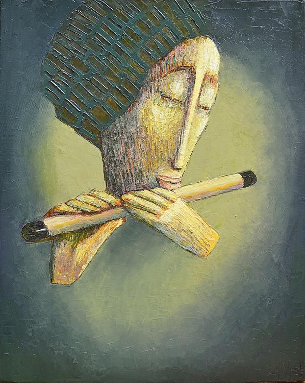 Hout Fluit (40cmx50cmx1.6cm) - Image 0