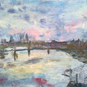 River Thames by Garth Bayley