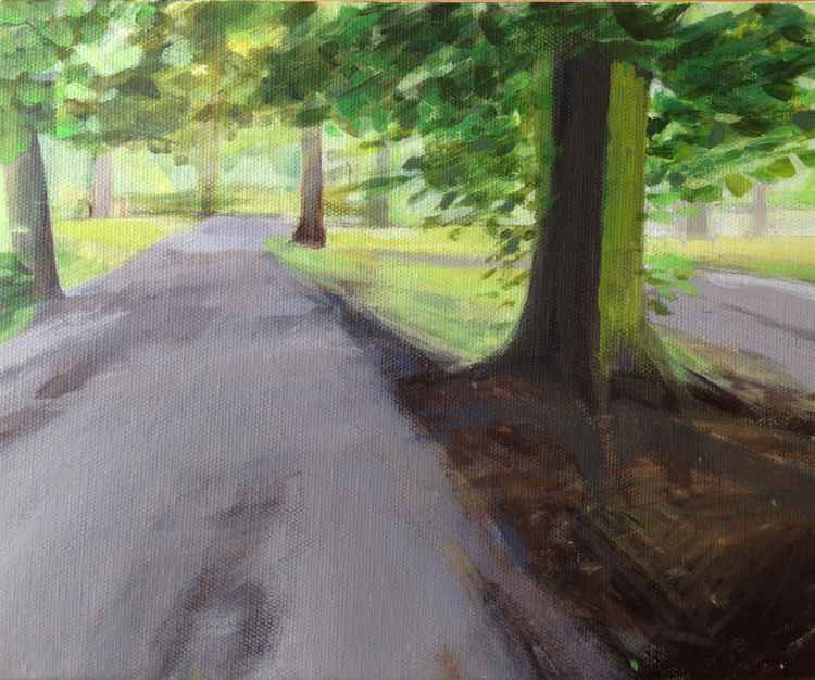 Vernon park in June -