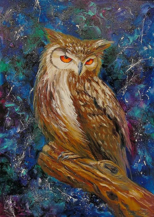Wise owl - Image 0