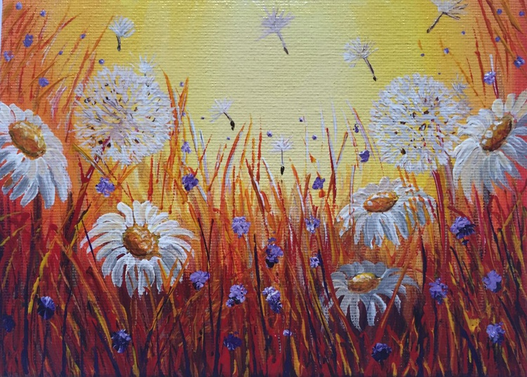 Daisies and fairy wishes - Image 0