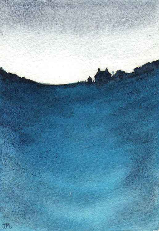 Blue. -