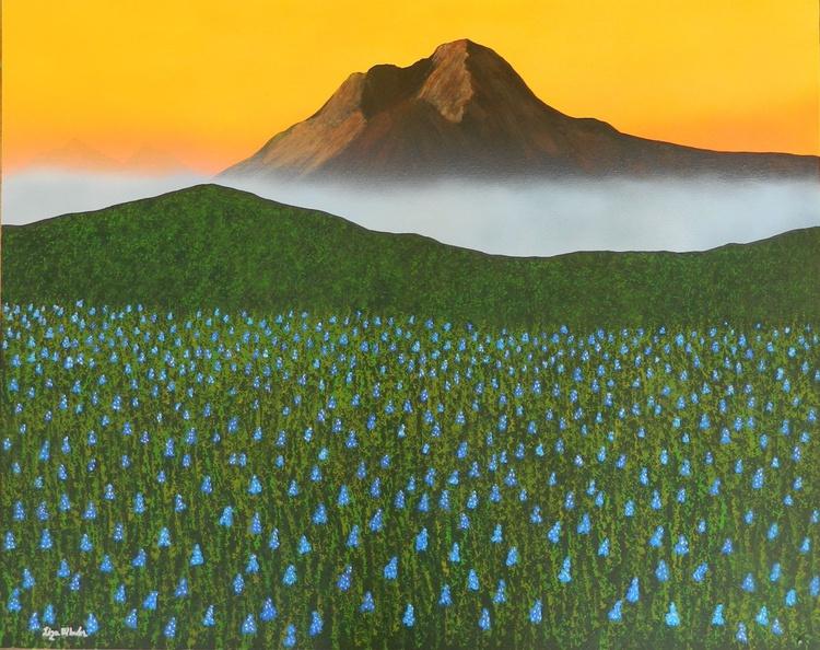 Mystic Morning -  Original, unique landscape painting - Image 0
