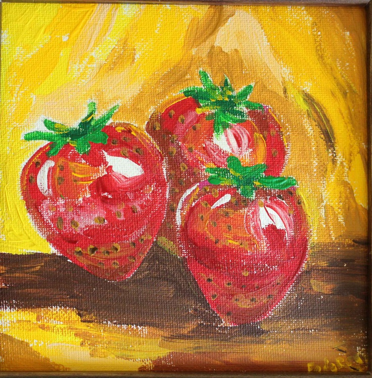 Strawberries are dancing! - Image 0