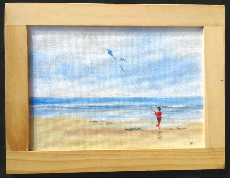 My blue kite! - Image 0