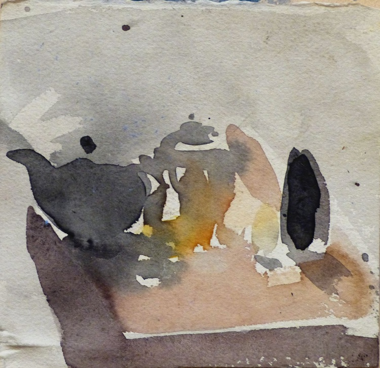 Still Life with Teapot, small format, 16x15 cm - Image 0
