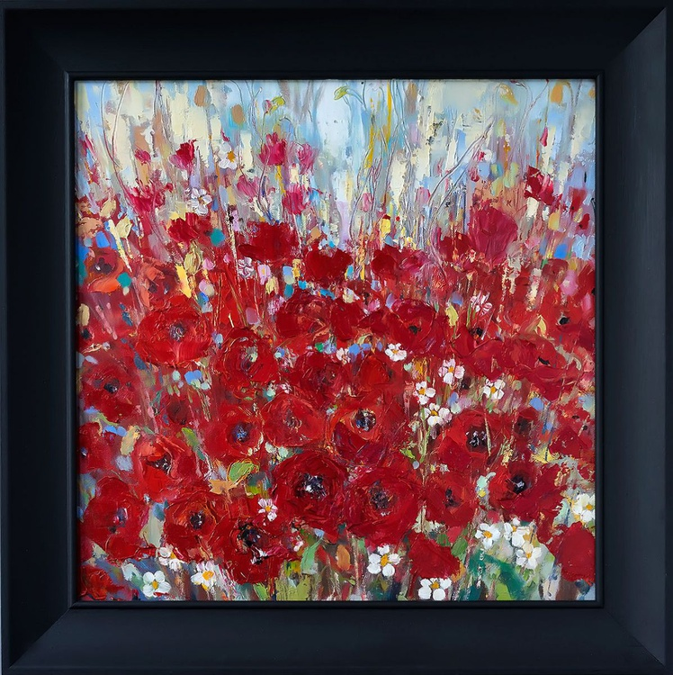 'Poppies in Bloom' - Image 0