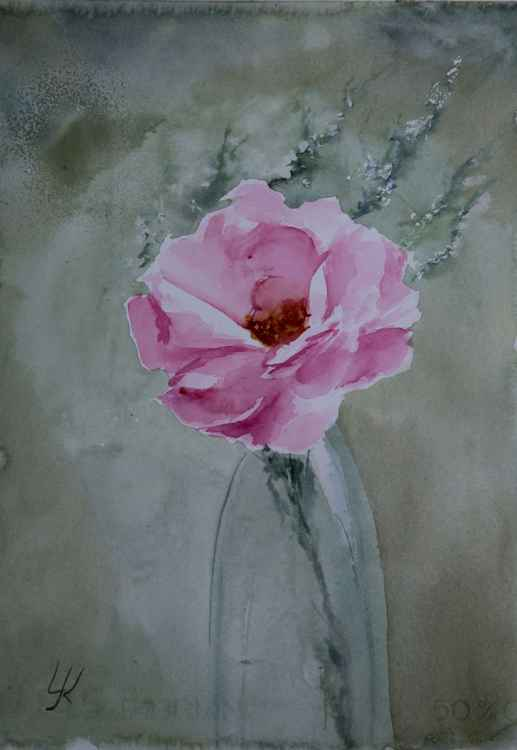 """for you"", original watercolour painting,  10""x14.2""(25x35.5cm) -"