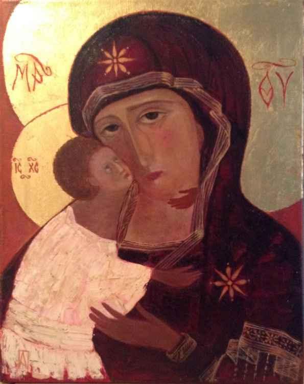 Mother of God (Vladimirskaya), (40cmX50cm)
