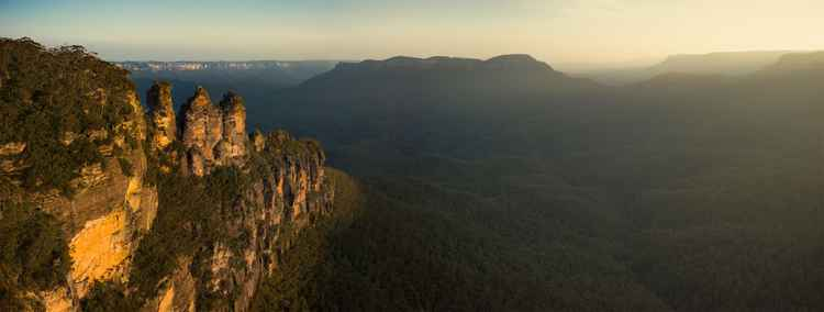 Panoramic Blue Mountains
