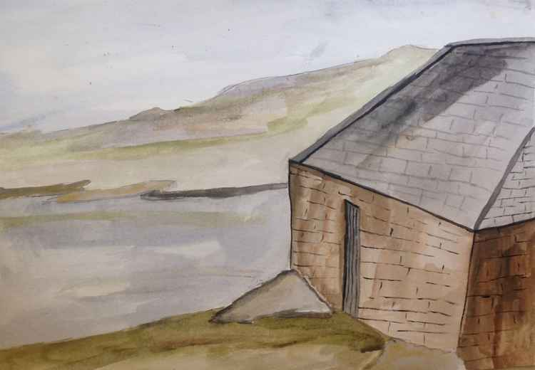 The old boathouse, rhu -