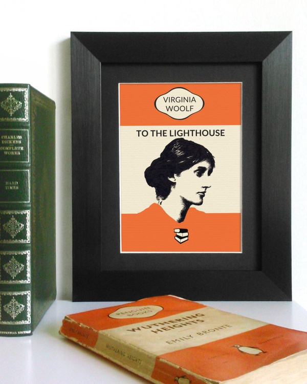 Virginia Woolf - To The Lighthouse (Framed) - Image 0