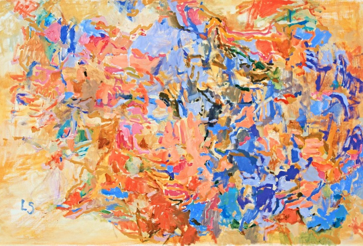 Heat Wave - Abstract Painting - Image 0
