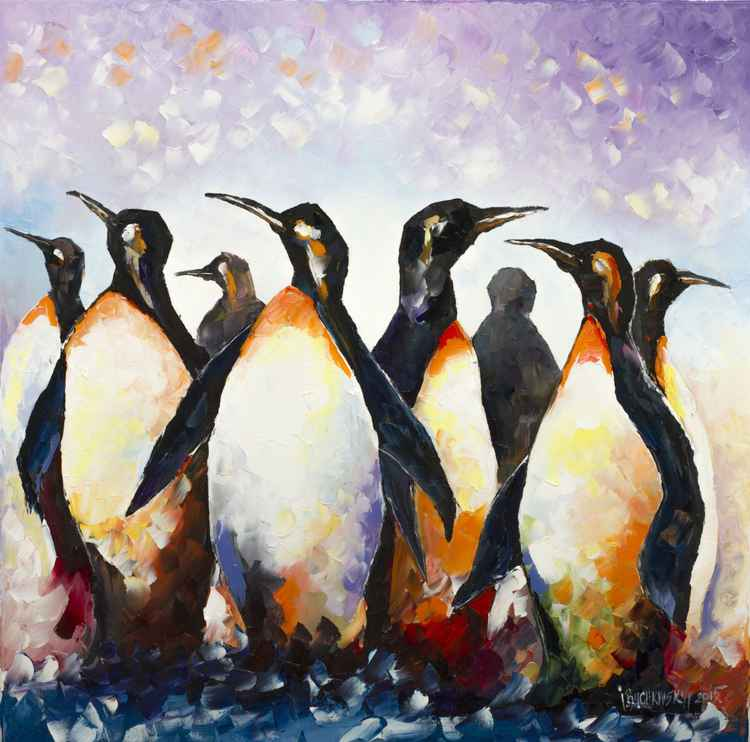 """ Penguins "" -"