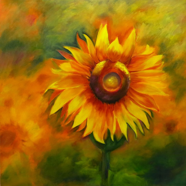 Solitary Sunflower - Image 0