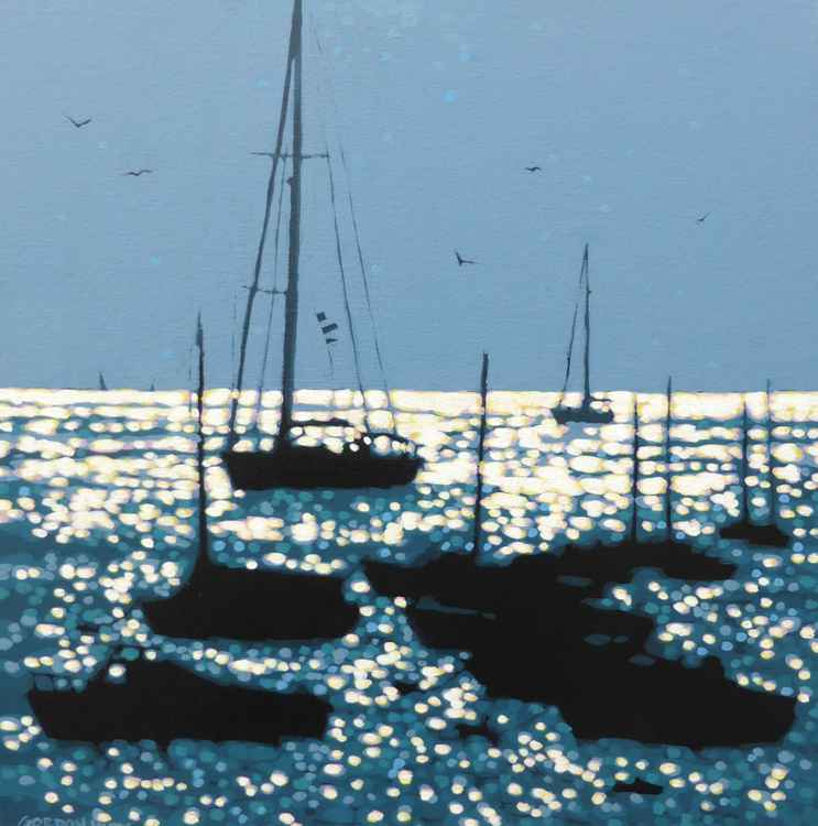 Into the harbour -