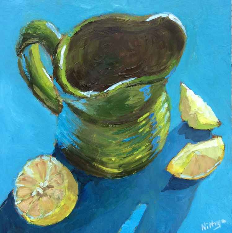 Lemons again - Original Still Life -