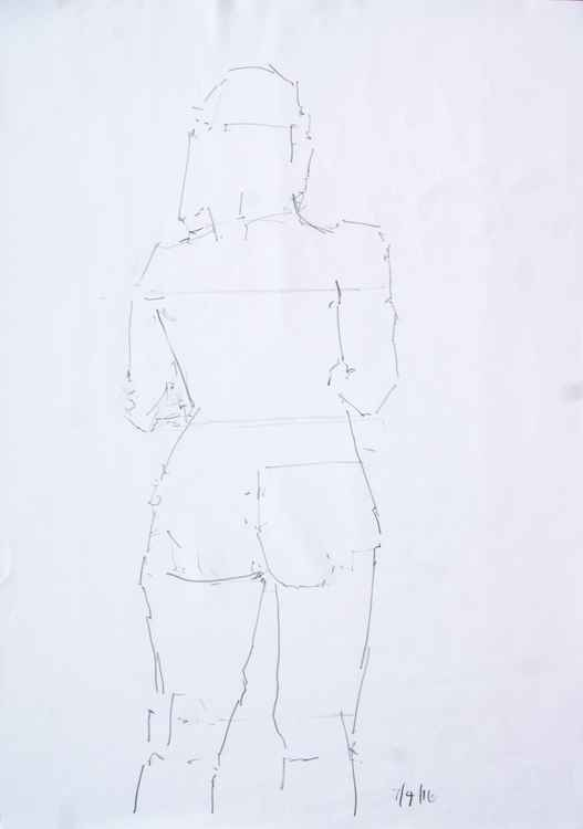 Life Drawing No 34 -