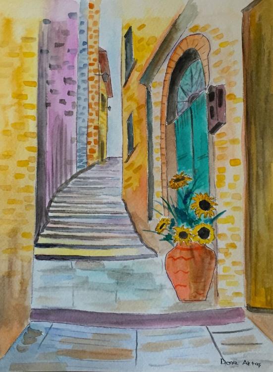 The Narrow Side Street - Image 0