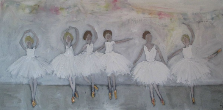 SIX LITTLE DANCERS - Image 0