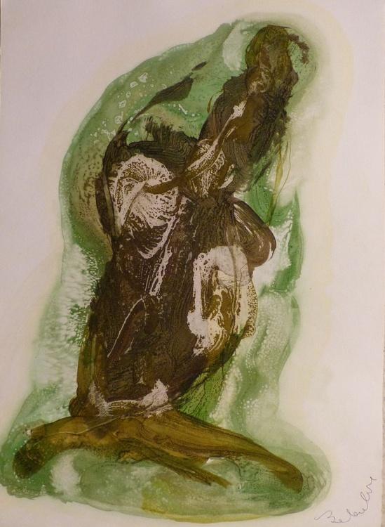 Prolegomena #68 , Acrylic on paper 42x59 cm - Image 0