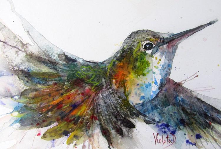 Flying Hummingbird  - Image 0