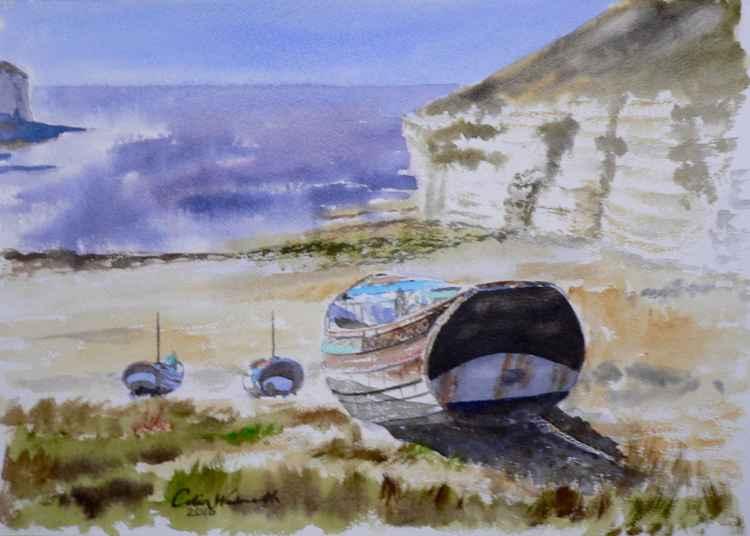 Old Fishing Boat, Flamborough -