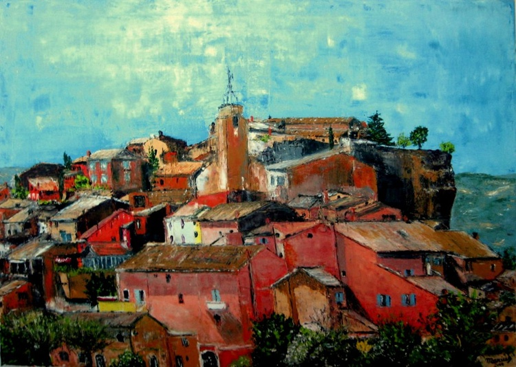 ROUSSILLON EN PROVENCE  (Collection Provence) - Image 0