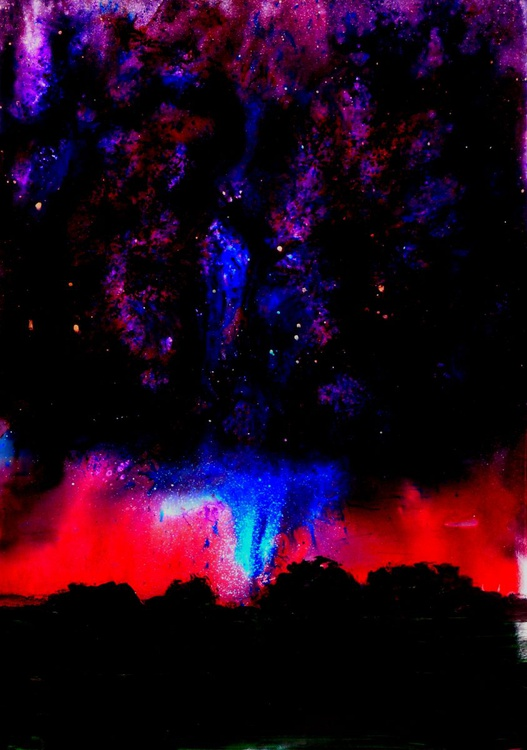[127] Electric Sky Abstract - Image 0