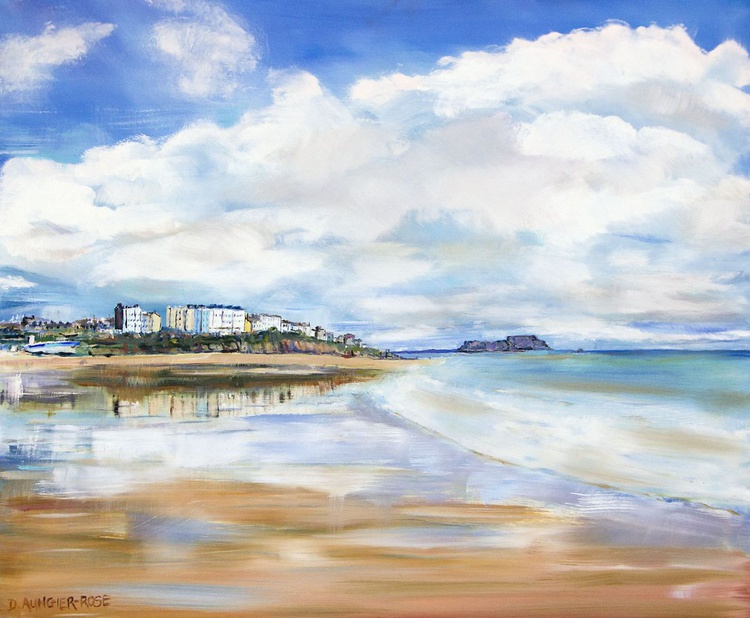 TENBY SOUTH BEACH REFLECTIONS - Image 0