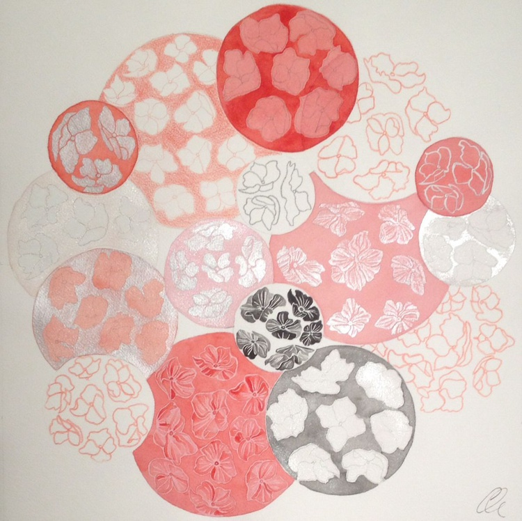 Black flower cell - Image 0