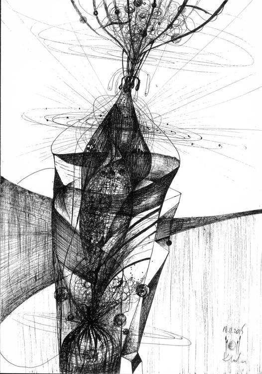 SUBLIME STILL LIFE BY MASTER KLOSKA SPONTANE VIBRATION LINES ABSURDE ETERNITY SUBLIME - Image 0