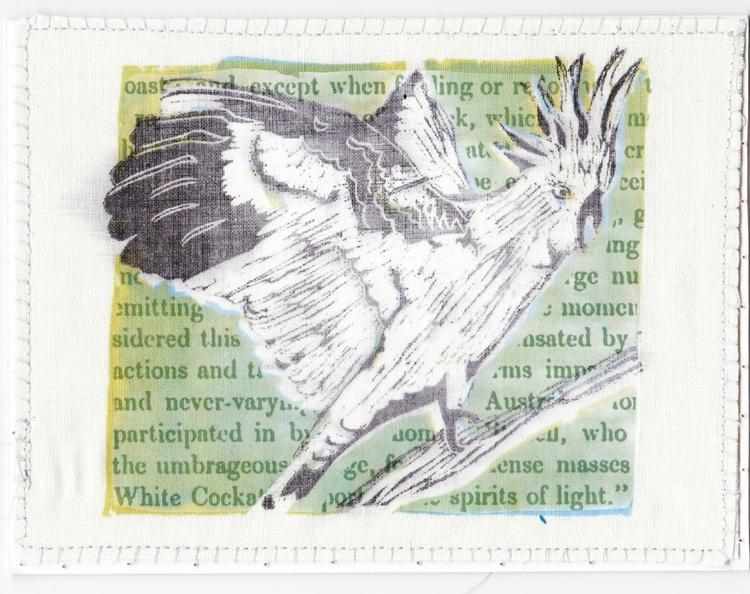 White Cockatoos Like Spirits of Light - Image 0