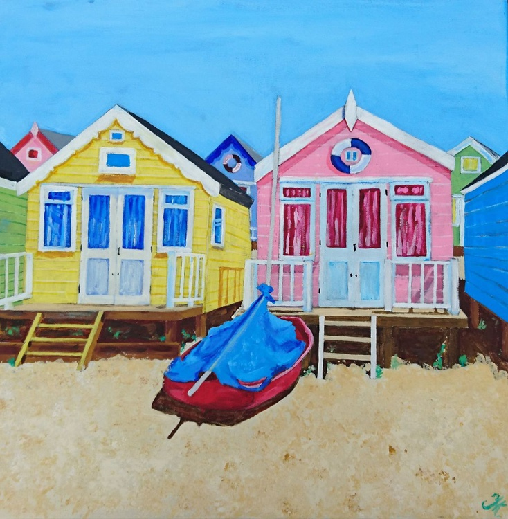 Colourful Beach Huts - Image 0