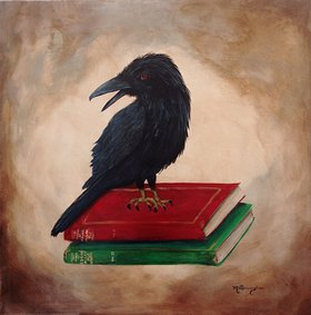 A Tribute to Poe by Marilyn  Pennington