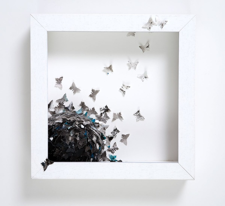 Black Butterfly Cluster - Image 0