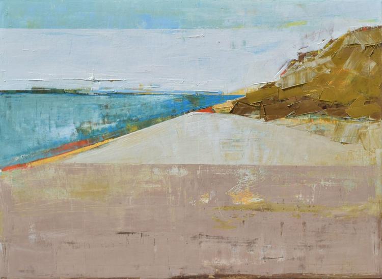 Canvas art 39.37/27.5 100/70cm. Landscape XIX. - Image 0