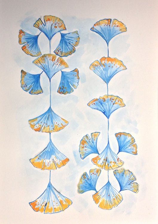 Ginkgo Leaves - Image 0