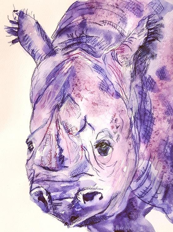 """Amethyst the rhinostone"""" - Image 0"