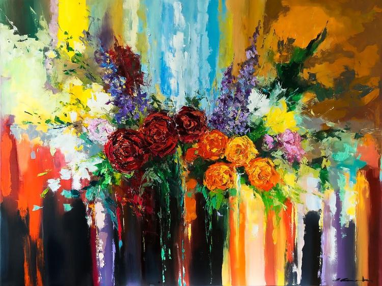 'Bouquet of Flowers III' - Image 0