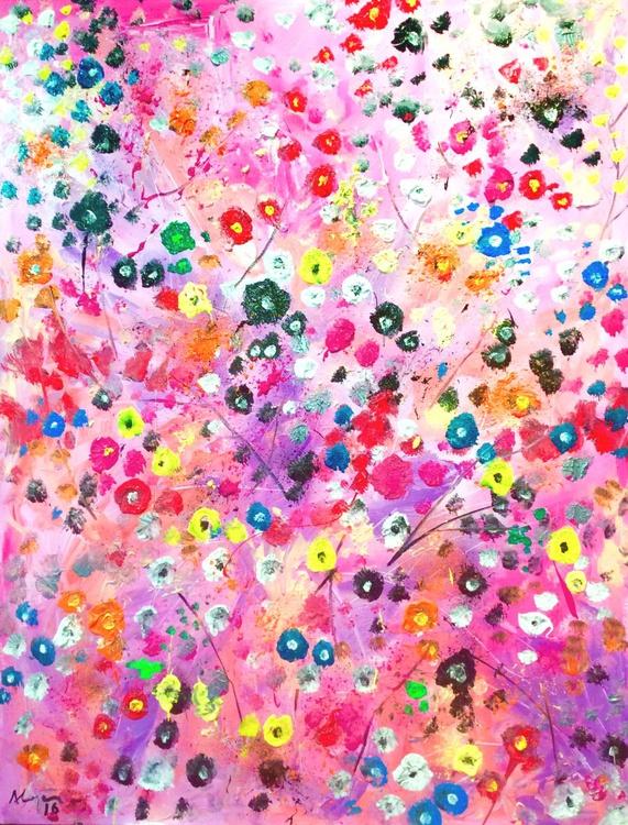 Ocean of flowers 3 - Image 0