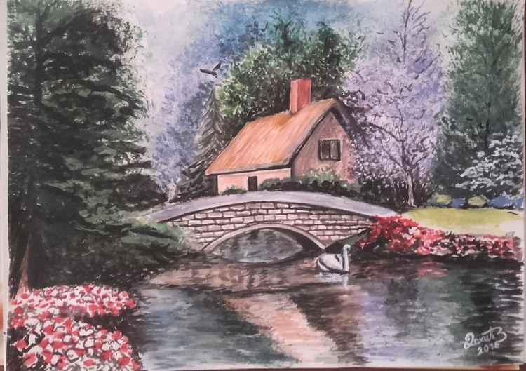 Stone bridge -