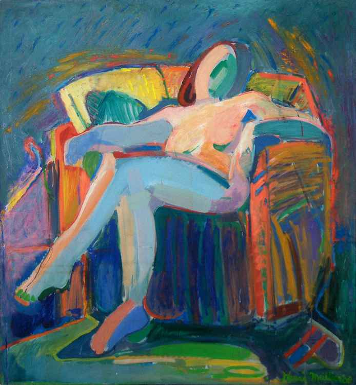 Condition of being Nude 44x48""