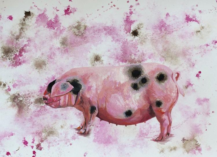 Gloucester Old Spot Pig - Image 0