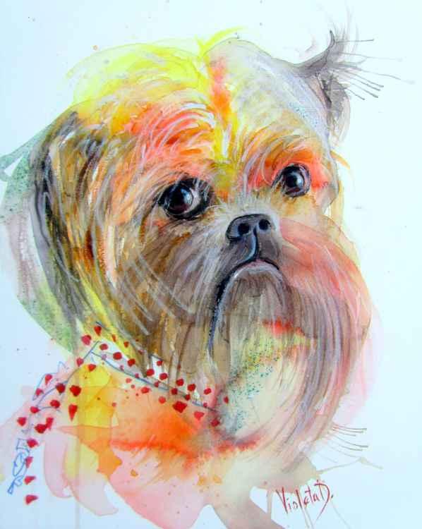 Portrait of Monna Woo -