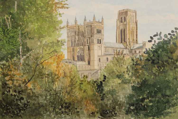 Durham Cathedral from South Street -